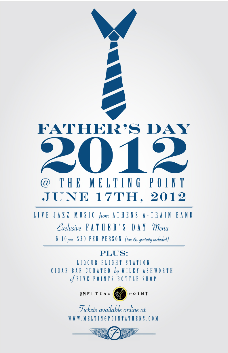 Announcing Father's Day @ the Melting Point | foundryparkinn
